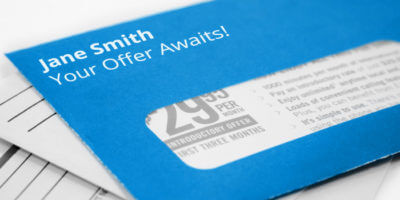 Make direct mail more interactive