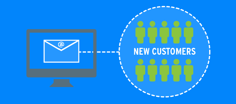Email marketing to acquire new customers